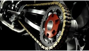 Почему на мотоцикле шумит цепь?