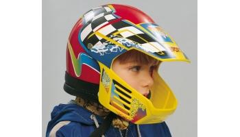 Как выбрать подходящий детский мотошлем?