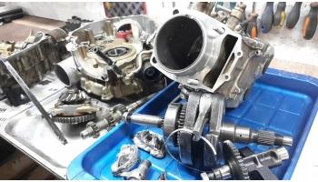 Ремонт двигателей квадроциклов Стелс: причины неисправностей и их устранение