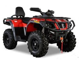 Hisun 600 (4x4) (Красный)