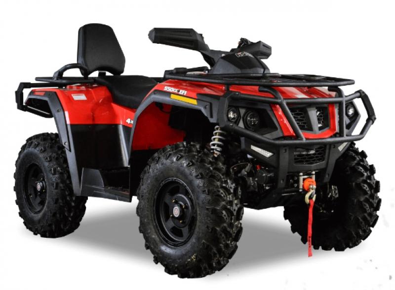 Hisun 600 4x4 (Красный)