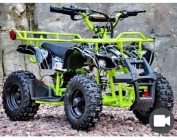 Детский электроквадроцикл Viper-Crosser EATV 90505 зеленый