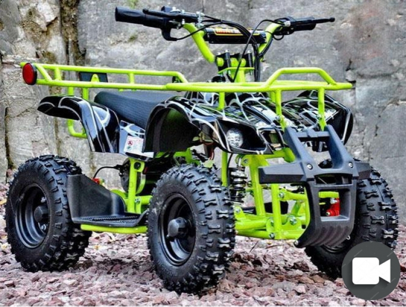 Электроквадроцикл Viper-Crosser EATV 90505 зеленый