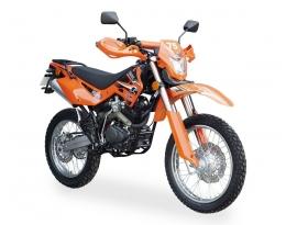 Мотоцикл SHINERAY XY200GY-11B LIGHT ENDURO (Оранжевый)