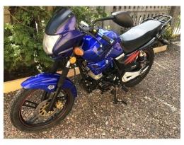 Мотоцикл VIPER V150A (Синий)