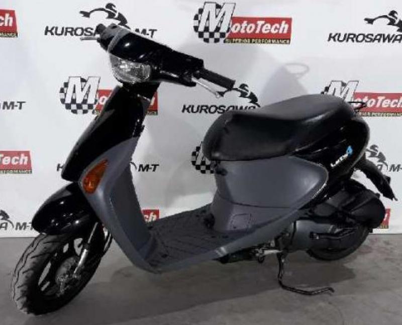 Suzuki Let's 4 черный
