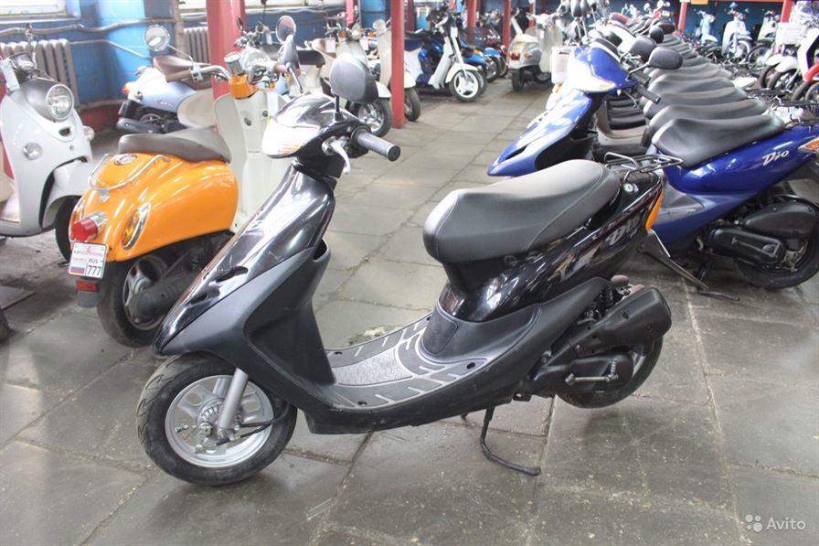 Honda Dio AF 34 (черная). Купить скутер Honda Dio AF 34 (черный) в Киеве. Цена 13 500 грн